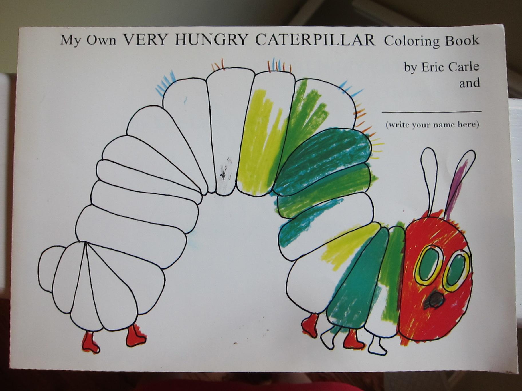 Very Hungry Caterpillar Junk Food Caterpillar Salad and ...